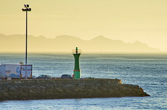 Vigo - Espagne - Galice - 028 un phare à l'entrée du port de Vigo