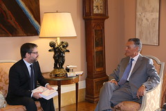 PSD reúne com o Presidente da República