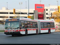 Toronto Transit Commission #9081 (vb5215's Transportation Gallery) Tags: toronto bus nova ttc transit commission artic lfs 2014
