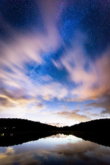 Heavenly Blue (Vocalonation @necrophantasia on twitter!) Tags: blue lake reflection japan heaven nagano milkyway