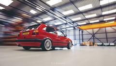 Volkswagen Golf MkII - ETA Beta (Rick Bruinsma) Tags: dutch golf volkswagen shot meeting beta rig venlo plus gti nederlands eta treffen limburg stance 16v loods rigshot stanced