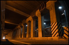 nagoya (jeremixart) Tags: road city building architecture dark underpass tokyo highway cityscape overpass tunnel freeway