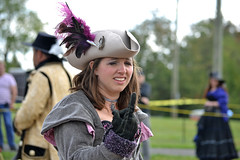 Just One (MTSOfan) Tags: woman one pirate glove buckscountyrenaissancefaire