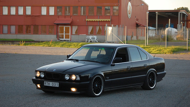 summer sweden interior low style german bmw 1991 rims 32 m5 91 exhaust 535 e34 supersprint