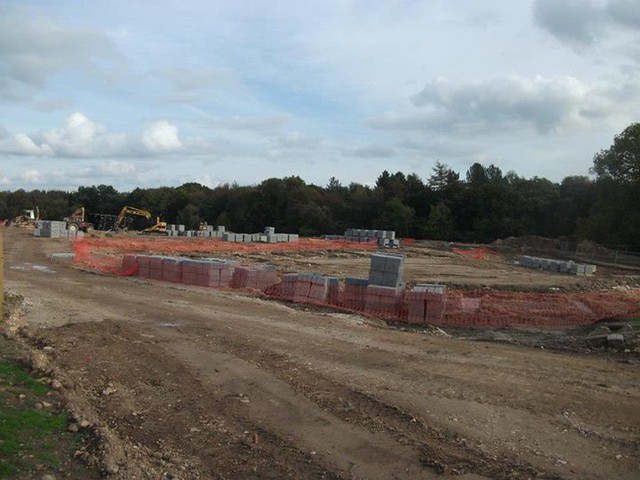 05/10/2014 - There has been quite a change since our last visit, with lots of ground work now taking place across the whole site.