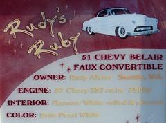 1951 chevrolet detail (bballchico) Tags: 1951 chevrolet kustom custom fauxconvertible belair rudyalviar rudysruby 206 washingtonstate