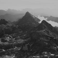 view from triglav summit (greole) Tags: mountain summit triglav slowenia triglavskidom