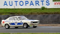 Ian Blacklin, Ford Capri MK I 3.0L - 5, KH 5/10/14 (djbsteele) Tags: ford capri knockhill fordcaprimk130litre