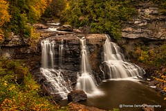 Blackwater Falls, Blackwater Falls State Park WV (Thomas DeHoff) Tags: west water long exposure sony falls blackwater viriginia a700