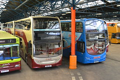 Lothian Buses 206 SN61BBJ & 948 SN10DLE (Will Swain) Tags: city uk travel bus buses yard scotland edinburgh day open britain garage centre transport central 206 september depot seen 27th lothian 2014 948 sn10dle sn61bbj