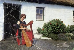 2014-06-24 19.14.18 (BEO- A Window into the Past) Tags: galway cottage harp redhair barna thatchedcottage kathleenwatkins bearna