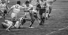 Ordizia Rugby - Bathco (Andrea Latasa) Tags: morning red green sport canon photography rugby hard deporte match euskalherria euskadi santander fotografa ordizia kirola argazkilaritza bathco