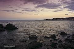 After sunset (Andrea Rapisarda) Tags: italy seascape clouds italia nuvole mare dusk sony sicily sicilia scogli crepuscolo acitrezza aftersunset allrightsreserved mirrorless