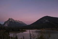 Vermilion Lake Sunset (hey ~ it's me lea) Tags: sunset lake canada alberta banff mountrundle rundle banffnationalpark vermilionlake