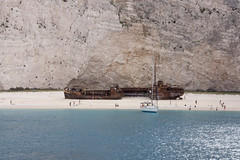 IMG_6846 (paul jeffrey 1) Tags: sea beach eos ship sigma greece shipwreck zante zakynthos smugglerscove 2014 panagiotis canond450