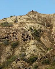 Climbing up the Diamond Head (Prayitno / Thank you for (10 millions +) views) Tags: mountain stairs walking island hawaii climb oahu head hiking path walk hike diamond climbing trail crater diamondhead hi honolulu hnl leahi knomark