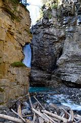 Hidden Falls (Marc Dario) Tags: canada nature landscape waterfalls alberta banff