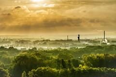 Duisburg (uw67) Tags: sunrise nebel herbst landschaftspark duisburg sonnenaufgang hochofen sigma1770 nikond5300 autumfog