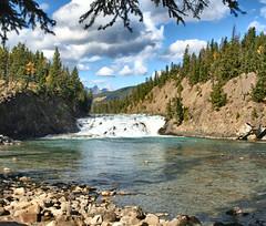 Bow Falls, Banff National park, Alberta, Canada - ps5251-54 (photos by Bob V) Tags: canada mountains rockies waterfall alberta banff rockymountains bowriver bowfalls albertacanada banffnationalpark canadianrockies banffpark cans2s mountainwaterfall