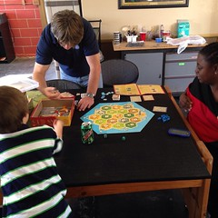 #Malikai playing Settler's of Catan with us. / on Instagram http://instagram.com/p/uB4_Mlsmui/