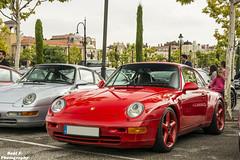 Porsche 993 Carrera (RAFFER91) Tags: madrid las mercedes benz spain nikon ferrari turbo porsche subaru bmw alfa romeo cayman mazda boxster lamborghini rs maserati tb 4s gallardo carrera f430 combo mkii cabriolet gt3 348 turbos 355 berlinetta rozas 981 carspotting superleggera carscoffee d7100 raffer91