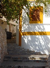 Shadows and Steps - Eivissa - Ibiza (Gilli8888) Tags: window sanantonio stairs spain shadows steps stairway ibiza santantoni balearicislands balearic