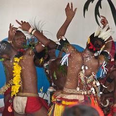The Kiriwina charmers (Sven Rudolf Jan) Tags: dance traditional papuanewguinea alotau trobriand kiriwina