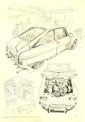 L'Atelier de Jojo (lolo wagner) Tags: car sketch citroën voiture workshop atelier croquis moteur m35 rotatif