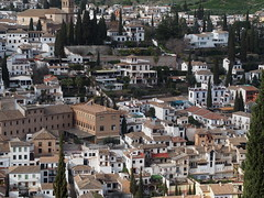 Alcazaba, Alhambra, Granada Spain (ChihPing) Tags: travel castle spain olympus andalucia alhambra granada alcazaba omd albaicin albaicn    em5