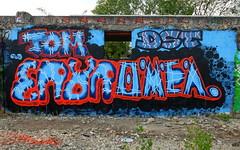 Graffiti Utrecht (oerendhard1) Tags: urban streetart art tom graffiti utrecht dst eror omea grindbak tomone
