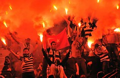 Greece Soccer Europa League (Fenerbahce Ultras) Tags: fire fb istanbul thessaloniki galatasaray fenerbahce ultras grc besiktas tifosi bjk ultraslan carsi cimbom kadiky efsane gfb mesale kfy tribnler