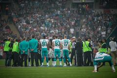 NFL Raiders v Dolphins 087 (tsavoja) Tags: london nfl dolphins raiders wembley