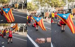 \ (Irene Cabre) Tags: barcelona people sol familia freedom catalonia v amics vermell catalunya diada groc independencia calor 2014 setembre democracia germanes pares varcelona 11setembre catalognia viotar volemvotar 11s2014 assambleanacionalcatalunya dretadecedir lavbaixa catalagnes