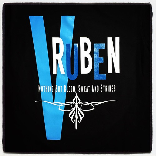 Ruben V - Blood, Sweat and Strings #Expertees #tshirts #rubenv