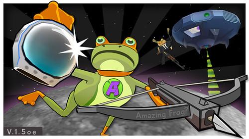 Amazing Frog OUYA UFO