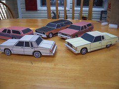 Chrysler New Yorker (official inspection station) Tags: toy newyorker 1978 chrysler 1977 1976 papercraft mopars papercars papercarmodels