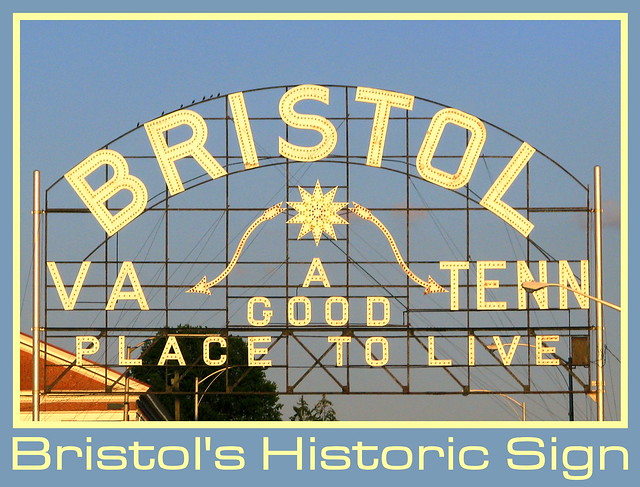 Things for sale: Post Card: Bristol's Historic Sign