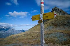 Wildmadfurggeli . 2294 m (Toni_V) Tags: alps sign landscape schweiz switzerland europe suisse hiking 28mm rangefinder alpen svizzera 141004 glarus wanderung 2014 wegweiser glärnisch svizra glarnerland elmaritm ©toniv leicam9 wildmadfurggeli elmwildmadfurggeliberglimattseeschwanden l1018920