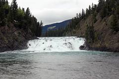 Bow Falls in Banff (JB by the Sea) Tags: canada rockies waterfall alberta banff rockymountains bowriver bowfalls banffnationalpark canadianrockies september2014