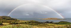 Skye rainbow 2014-10-06 (IMG_1569-74) (ajhaysom) Tags: skye scotland rainbow isleofskye canon24105l canoneos6d flodgarry