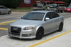 Audi A4 1.8T (nighteye) Tags: singapore a4 audi 18t audia4