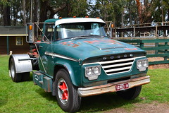 Dodge Truck (theducksguts) Tags: tractor classic truck trucker australian semi dodge chrysler mopar trailer aussie truckie lardnerpark