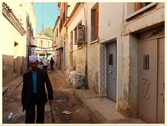 Medea - Old City (intasko) Tags: street city urban man architecture october islam tradition algerie medea ville homme algerian