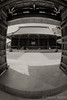 seeing from entrance gate (Takeshi Nishio) Tags: uv ilfordfp4plus nikonfm3a 白黒 寺社仏閣 フィルム 16mmfisheye ネガ ei125 spd1120deg7min filmno796