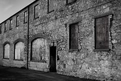 dockside warehouse (rich lewis) Tags: blackandwhite bw monochrome architecture mono derelict richlewis