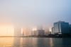 2017.02.18 Strange Mist Strikes Macau's Sunset (Tony.L Photography) Tags: sony ilce a7markii sonya7m2 a7m2 a7ii 35mm fullframe black magic sonyblackmagic blackmagic fullframelens ffl macau landscape cityscape raw images rawimages sonyimages citynight city night photography