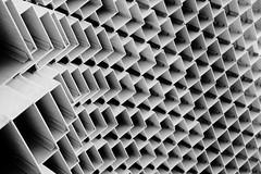 Bjarke Ingels's Serpentine Pavilion part 3 (jbarry5) Tags: bjarkeingelssserpentinepavilion serpentinepavilion bjarkeingels monochrome blackandwhite geometry abstract travelphotography travel london england