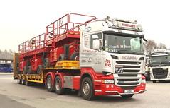 Scania Stgo Cat 2 Dem Plant T4DEM Frank Hilton IMG_5103_1 (Frank Hilton.) Tags: classic truck lorry eight wheel maudsley aec atkinson albion leyalnd bristol austin outside heavy haulage crane 8 axle
