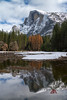 Reflection Meadow - Half Dome (Darvin Atkeson) Tags: california yosemite national park halfdome elcapitan bridalveil forest sierra nevada mountains clouds rest valley canyon glacier darv darvin lynneal atkeson yosemitelandscapescom meadow flood flooding flooded winter 2017 scenery