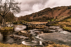 A moment in time. (Explored 25th March 2017) (Harvey Smith) Tags: english lake district countrysidewalks thelakes landscape bridge stream cumbria northwest beck trees landscapephotography 2017 pentax harvey smith photography 2016 northern england spring green lakes englishlakedistrict harveysmithphotography2017 lakedistrict northernengland littlelangdale slatersbridgelingmoor